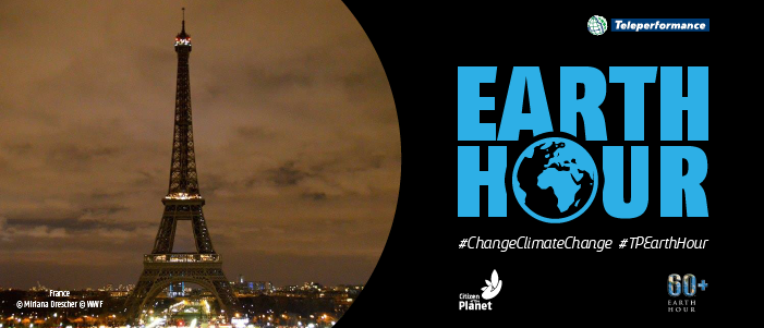 Teleperformance turns off the lights for Earth Hour