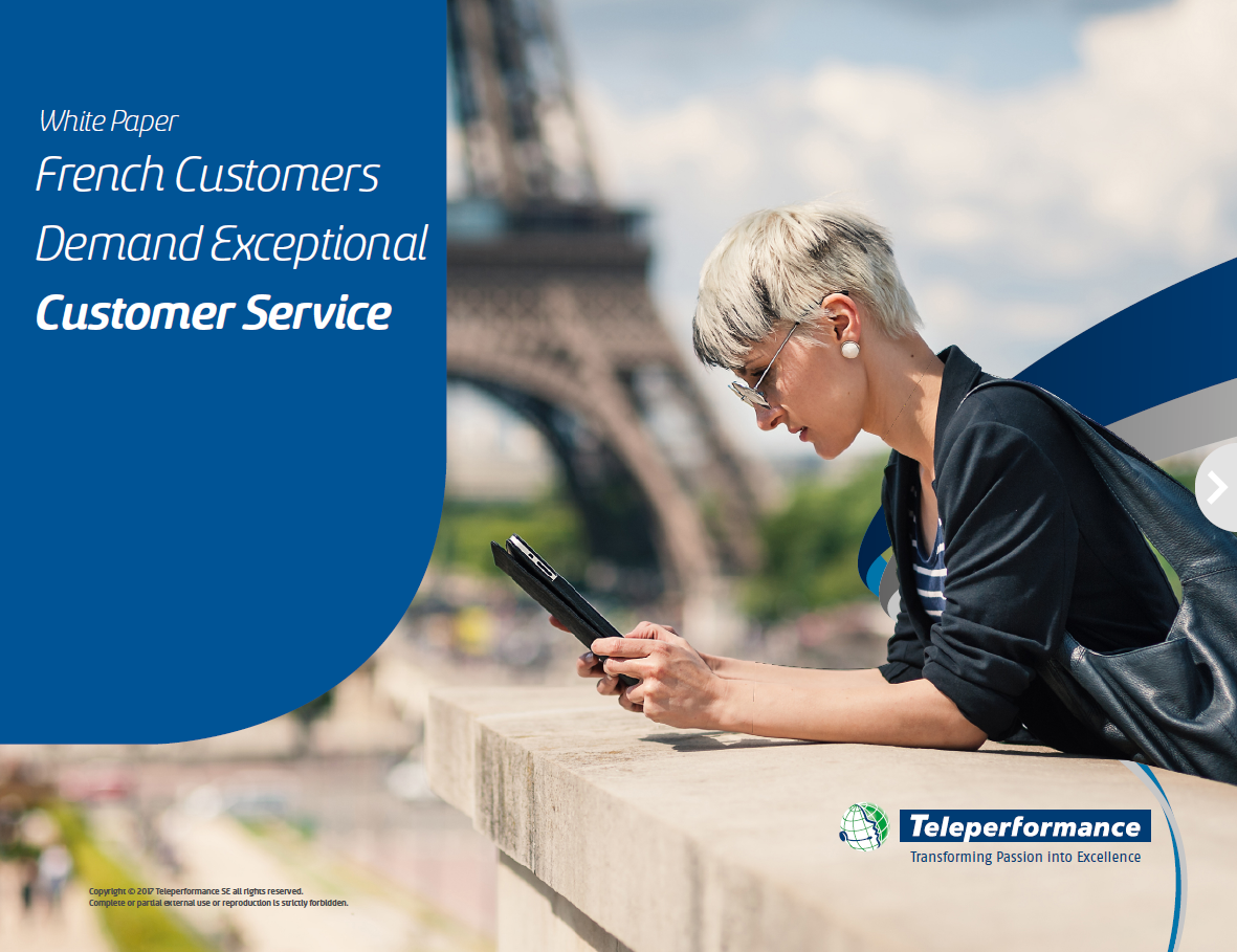French Customers Demand Exceptional Customer Service