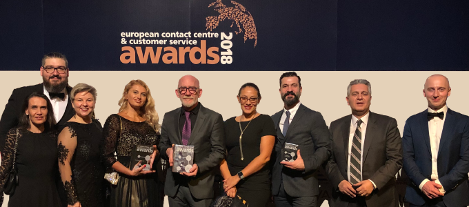 Teleperformance takes home five awards from 2018 ECCSAs
