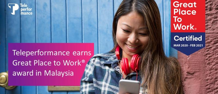 Teleperformance in Malaysia is Great Place to Work®-Certified!